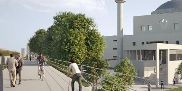 Promenade - Die Stadt Krefeld bautet eine Promenade. Unsere Gemeinde leistet Ihren Beitrag.